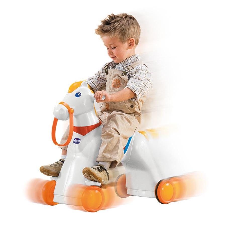 Chicco cavallo rodeo utilizzo con bambino